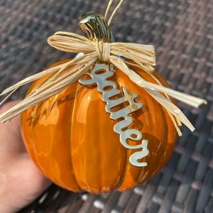 "Pumpkin ""Gather""Wallflower Plug In"